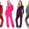 Women's Velour Lounge Suit (2-Piece)