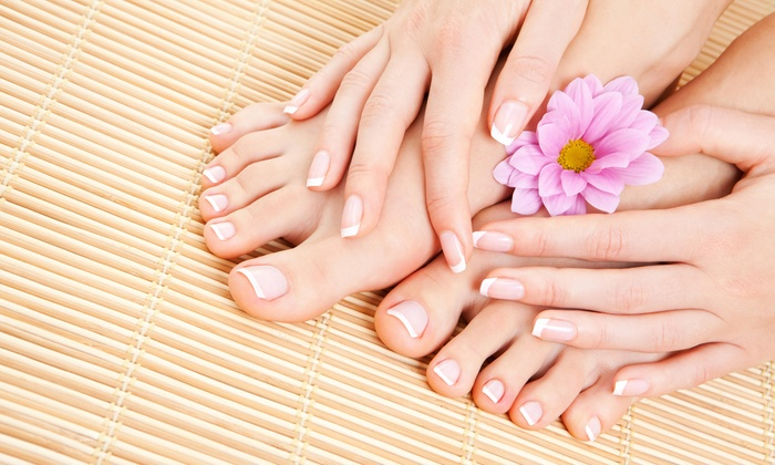 The Nail Bar At Gloss Style Studio - Wilmington: A Spa Manicure and Pedicure from The Nail Bar at GLOSS Style Studio (56% Off)