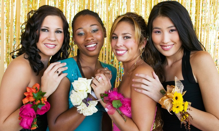 My M.I.S.S. Haven - Multiple Locations: Prom Beauty Package with Optional Brow Shaping and Lashes at My M.I.S.S. Haven (53% Off)
