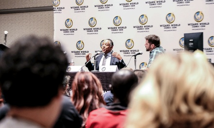 Wizard World Comic Con on Friday, February 26, at 3 p.m.