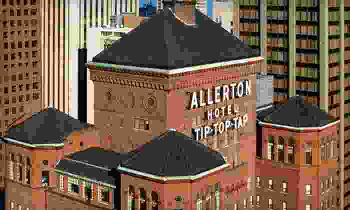 The Allerton Hotel - Chicago, IL: One-Night Stay with Welcome Drinks and WiFi at The Allerton Hotel in Chicago