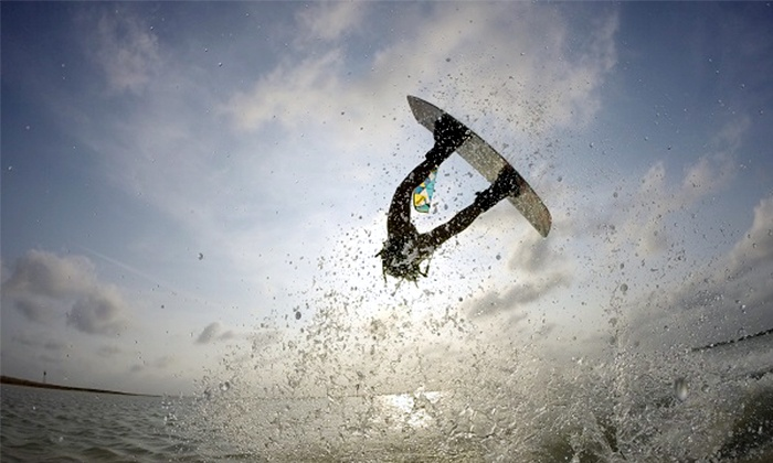 Prokite South Padre - South Padre Island: Kiteboarding Lessons for Up to Six People from PROKITE South Padre (Up to 58% Off). Three Options Available.