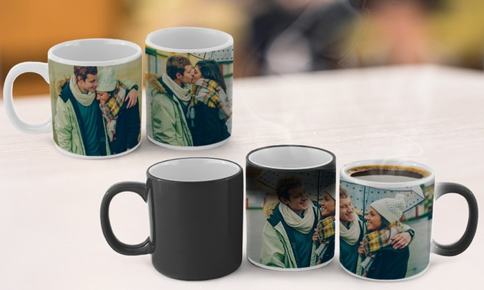 83 off personalized magic photo mugs or photo mugs groupon