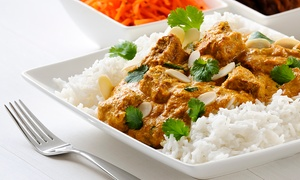 India Tavern: Indian Dinner at India Tavern (Up to 43% Off). Two Options Available.
