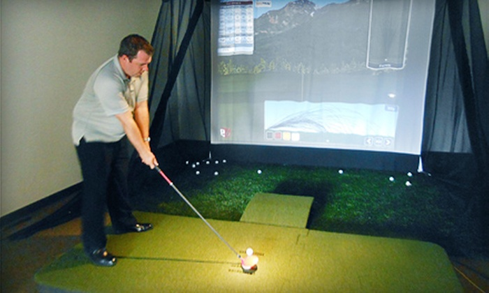 Golfer's Edge - Lombard: One-, Two-, or Four-Hour Golf Simulation Session at Golfer's Edge (Up to 57% Off)