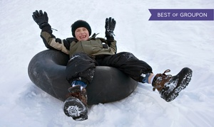 Beach Mountain: Snow Tubing for One, Two, Four, or Six at Beach Mountain (Up to 56% Off)