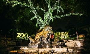 Up to 24% Off Zoo Lights Admissions to San Antonio Zoo at San Antonio Zoo, plus 6.0% Cash Back from Ebates.