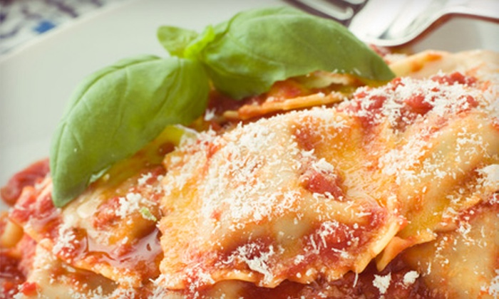 Napoli's Italian Restaurant - Tulsa: $15 for a Pasta Meal for Two with Salads and Soft Drinks at Napoli's Italian Restaurant (Up to $29.88 Value)