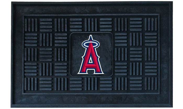 Los Angeles Angels of Anaheim Vinyl Door Mats: Los Angeles Angels of Anaheim Vinyl Door Mats