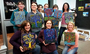 The Creative Child and Adult Arts Program: Admission to BYOB Painting Class for One or Two at The Creative Child and Adult Arts Program (Up to 51% Off)