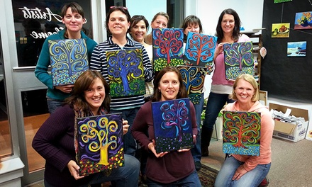 Admission to BYOB Painting Class for One or Two at The Creative Child and Adult Arts Program (Up to 51% Off)