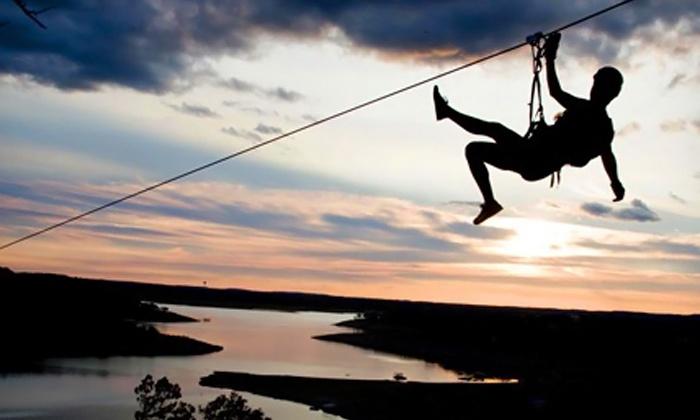 Lake Travis Zipline Adventures - Austin: Zipline Tour for One or Two at Lake Travis Zipline Adventures (Up to 29% Off)