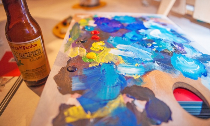 Art Bar - San Luis Obispo: Painting Workshops and Classes at Art Bar (Up to 39% Off). Three Options Available.