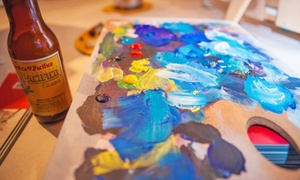 Art Bar: Painting Workshops and Classes at Art Bar (Up to 39% Off). Three Options Available.