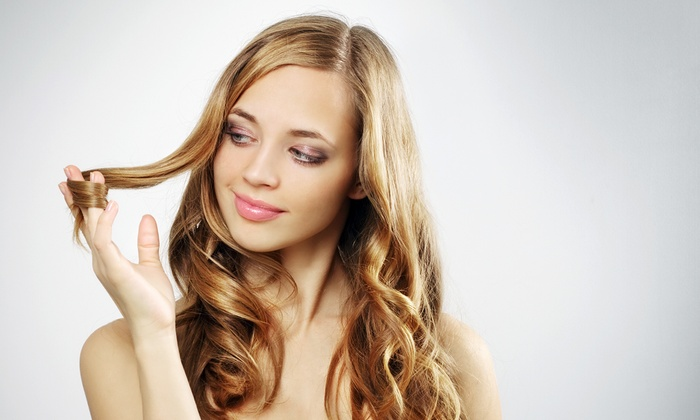 HairTini Salon - Drexel Hill: Haircut, Conditioning Treatment, Blow-Dry, and Optional Full or Partial Highlights at HairTini (Up to 62% Off)