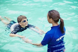 Aweswim: One or Three Children's Swimming Lessons at Aweswim