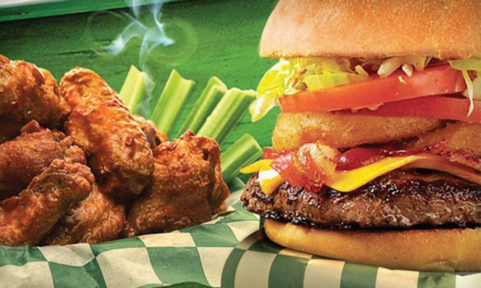 Beef 'O' Brady's - Apopka: $15 Worth of Pizza, Burgers, and Wings