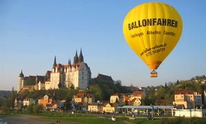 Ballon Crew Sachsen: Ballonfahrt-Event für ein oder zwei Personen inkl. Taufe und Urkunde mit der Ballon Crew Sachsen (bis zu 28% sparen*)