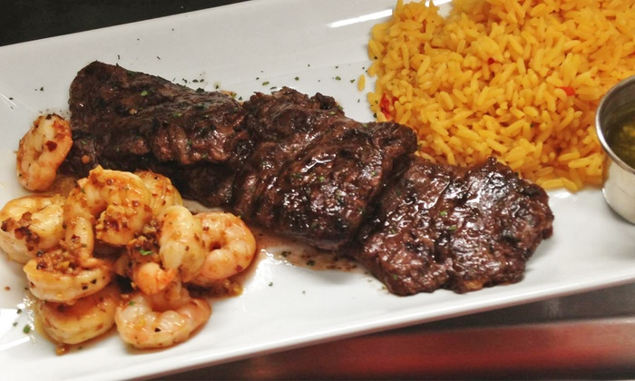 Moonachie Churrasqueria and Grill  - Moonachie: Steaks and Latin American Cuisine at Dinner for Two or Four at Moonachie Churrasqueria and Grill (50% Off)
