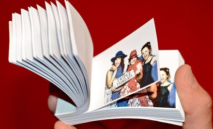 One- or Two-Hour Mobile Flipbook Studio Rental with Flipbooks from It's Flippin Fun (Half Off)