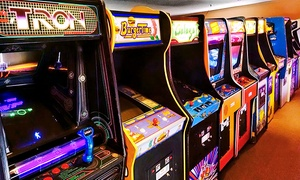 The Arcade: Two or Four All-You-Can-Play Wristbands at The Arcade (Up to 55% Off)