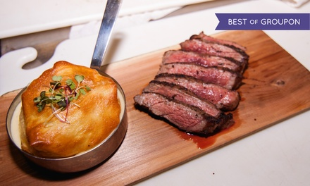 $60 for Upscale Fusion Cuisine and Drinks for Two at 4935 Bar and Kitchen ($99 Value)