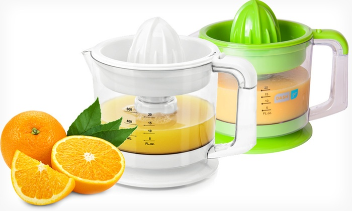 Dash Go Dual Citrus Juicer: $13.99 for a Dash Go Dual Citrus Juicer in Blue, Green, Red, or White ($29.99 List Price) . Free Returns.