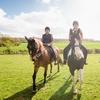 Passeggiata a cavallo con brunch