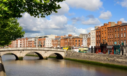 ✈ Dublin: 2 or 3 Nights at a Choice of Hotels with Flights and Guinness Storehouse Tour*