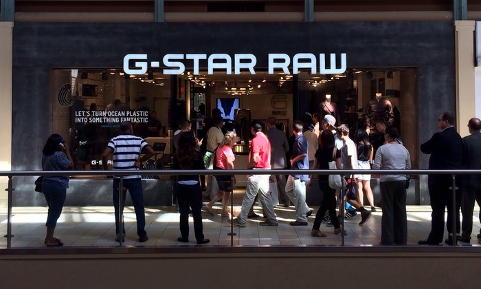 G-Star Raw - Newport Center Mall : Denim Clothing and Accessories for Men and Women at G-Star Raw (50% Off). Two Options Available.
