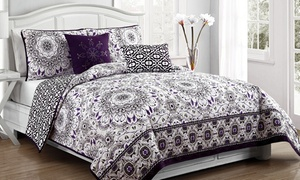 Reversible Quilt Set (5-piece)