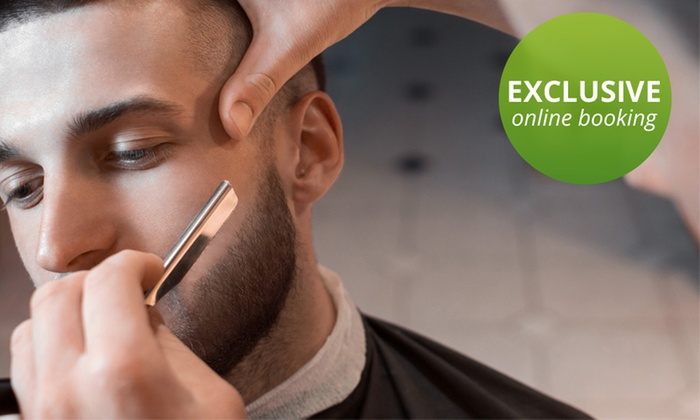 F Squared Hair Studio - Simpsonville: A Men's Haircut and Shave from F Squared Hair Studio (60% Off)