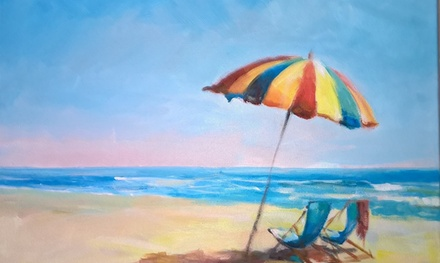 Three-Hour Painting Lesson at The Wilde Coward Company (43% Off)