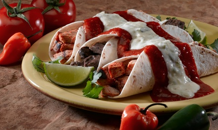 Dinner for Two or Takeout at           El Maya (Up to 45% Off). Three Options Available.