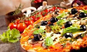 Central park (Oderzo): Cena con tagliere di pizza di 58 cm, dessert e bevanda per 2, 4 o 6 persone da Central Park (sconto fino a 65%)