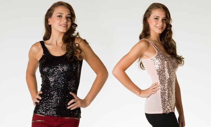 Coolwear Tanks: Coolwear Metallic Tanks. Multiple Styles Available. Free Shipping and Returns.