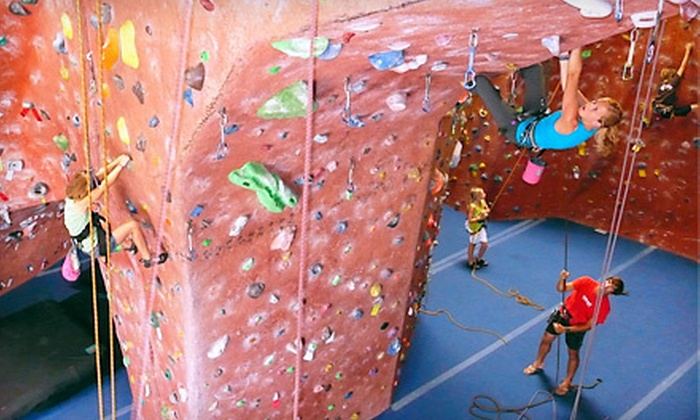 ClimbX - Huntington Beach: $45 for Two Months of Rock Climbing with Equipment and a Technique Class at ClimbX in Huntington Beach ($410 Value)