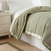 Home Collection Alternative Down Striped Blanket