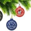 Set of 2 NCAA Home/Away Team Ornaments