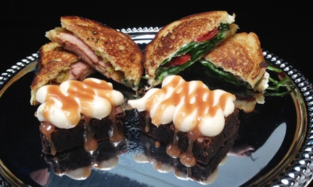 Sandwiches and Brownies for Two or Four at The Heavenly Dessert Company (31% Off)