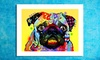 """Dean Russo 24""""x18"""" Dogs on Canvas Print: Dean Russo 24""""x18"""" Dogs on Canvas Print"""