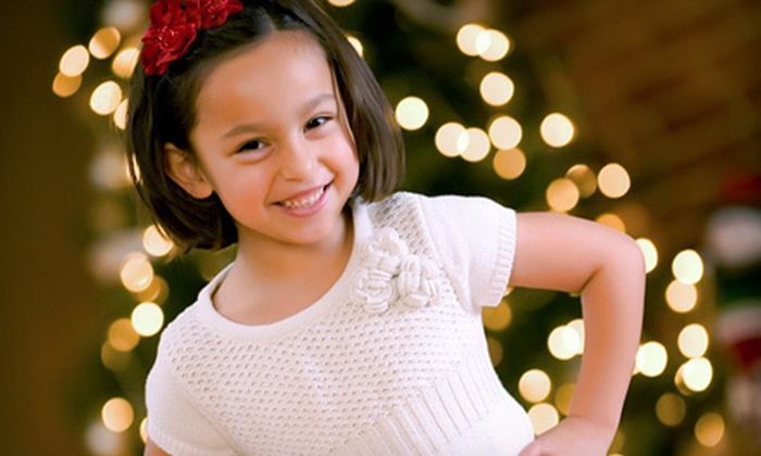 Lightshed Photography Studio - Downtown Salem: Photo-Shoot Package with Wall-Size Print or Holiday Cards at Lightshed Photography Studio (Up to 68% Off)