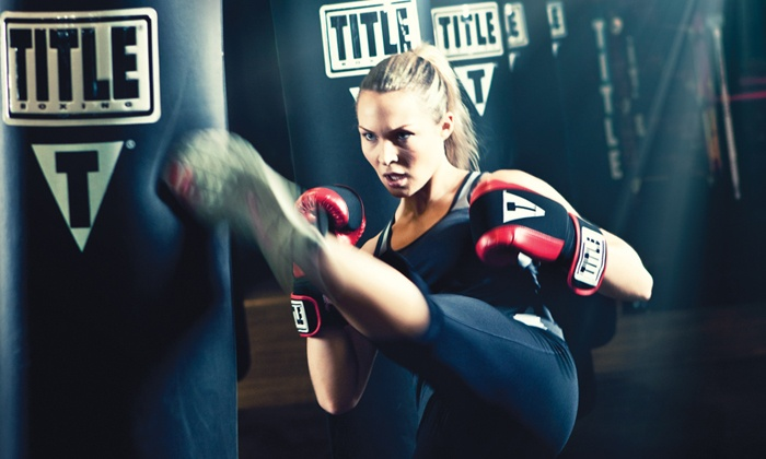 TITLE Boxing Club - Crocker Park: $39 for Two Weeks of Boxing & Kickboxing Classes with Gloves & Wraps at TITLE Boxing Club ($87.99 Value)