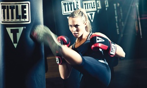 TITLE Boxing Club: $33 for Two Weeks of Boxing & Kickboxing Classes with Gloves & Wraps at TITLE Boxing Club ($87.99 Value)