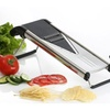 Nuvita V Blade Stainless Steel Mandoline Slicer Set (8-Piece)