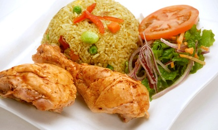 $11 for $20 Worth of Peruvian Food for Two or More at Inca's Cafe