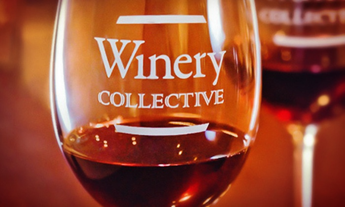 Winery Collective - Fisherman's Wharf: $50 for a Wine Tasting for Two with a Take-Home Bottle and Corkscrew at Winery Collective ($107 Value)