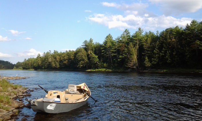 Locke Mountain Guide Service - Newry: $225 for a Full-Day Float or Wade Fishing Trip with Lunch from Locke Mountain Guide Service ($450 Value)