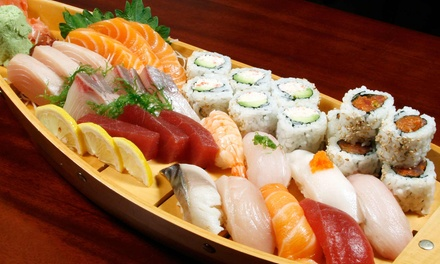 All-You-Can-Eat Sushi and Asian-Food Buffet for Two or Four at Asian Top Restaurant (54% Off)