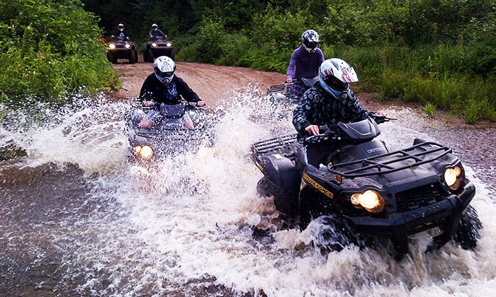 Top of the Mountain Tours - Dwight: C$59 for 60-Minute Guided ATV Wilderness Tour from Top of the Mountain Tours (C$100 Value)